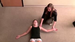 Foam Roll Pectoralis Chest Stretch Video