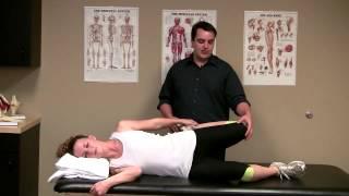 Side Lying Quadriceps Stretch