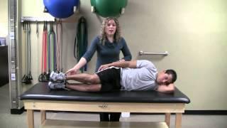 Side Lying Gap Stretch