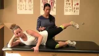 Hip Abduction Exercise – Side Lying