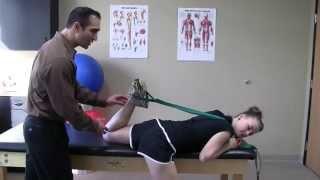 Quadriceps Stretch-Prone