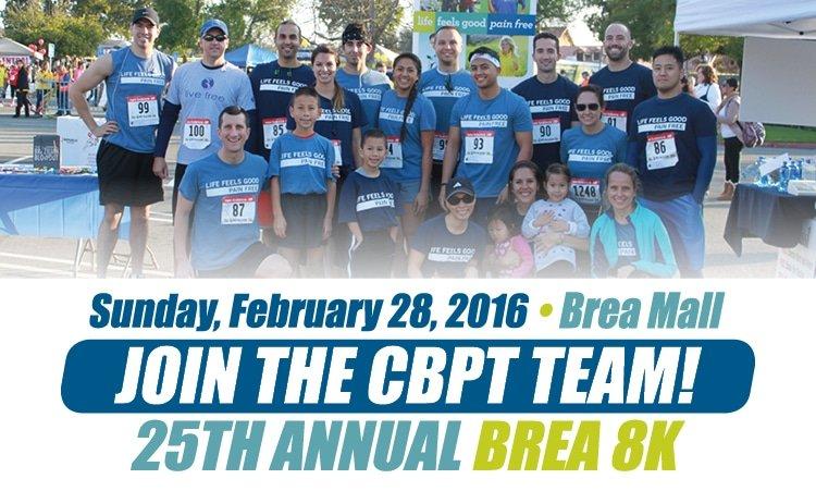 Join the 2016 CBPT Brea 8K Team!