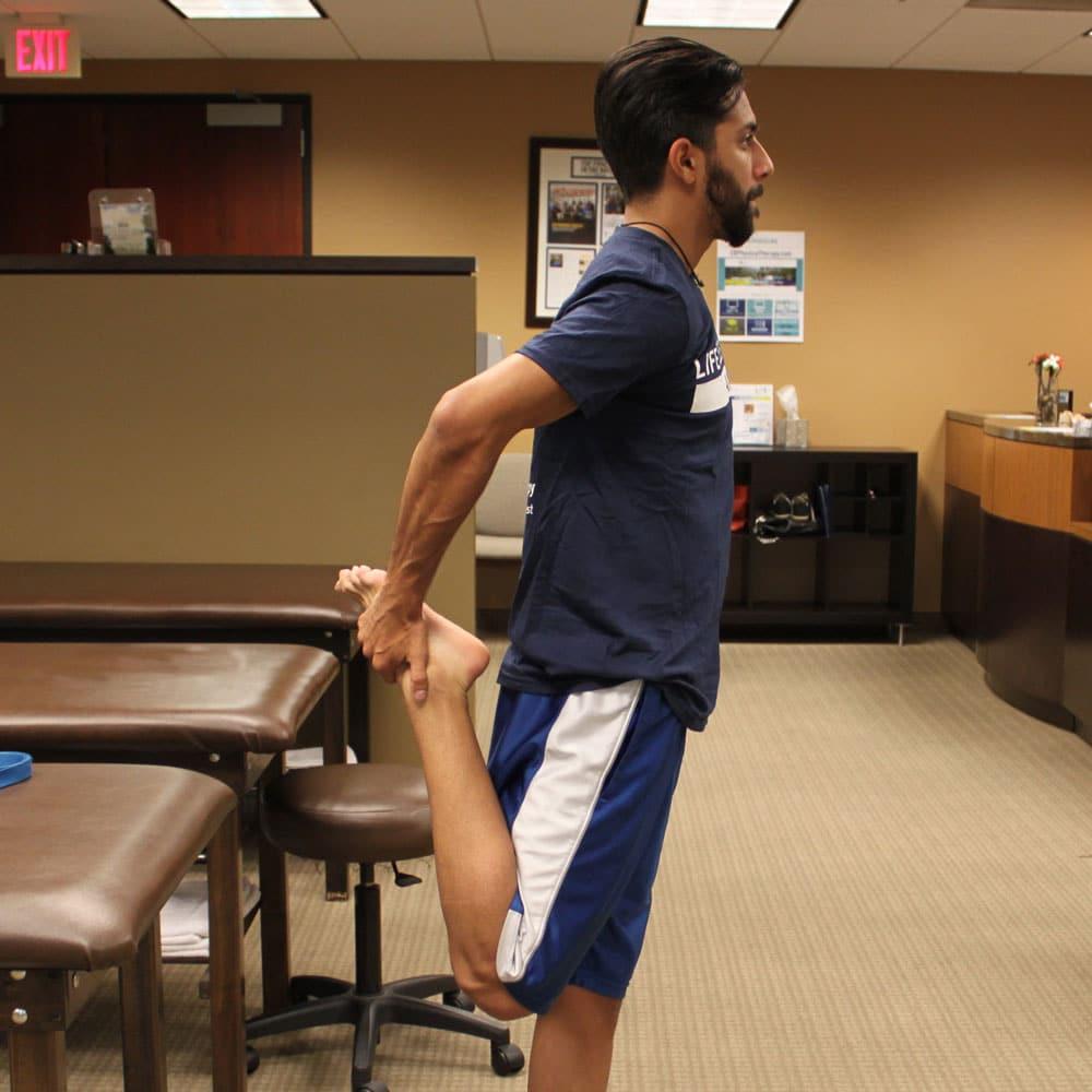 Standing Quadricep Stretch