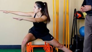 Side Lunge with Glute Stretch Video