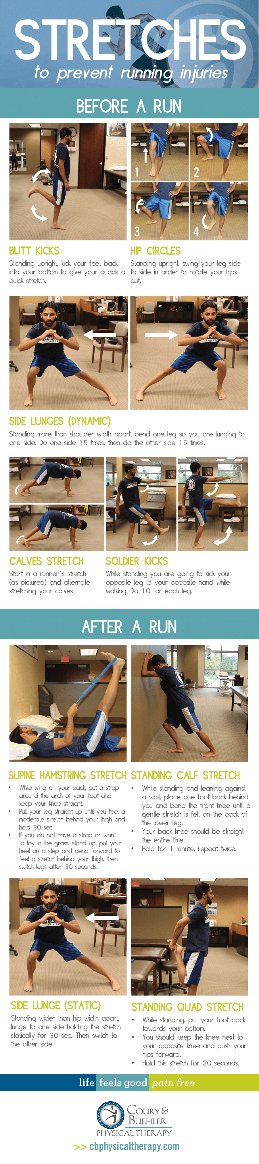 Stretches to Prevent Running Injuries
