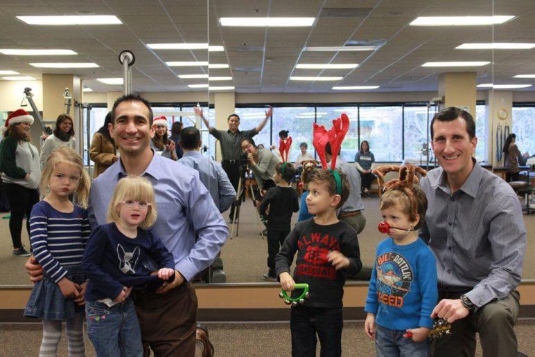 Special Caroling Visitors at CBPT – Blind Children's Learning Center