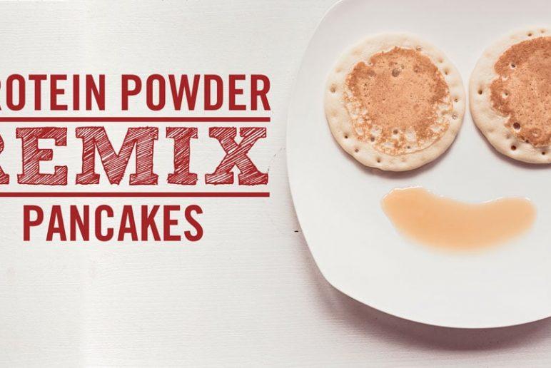 Protein Powder Remix: Pancakes