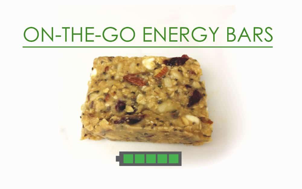 On the Go Energy Bars Recipe