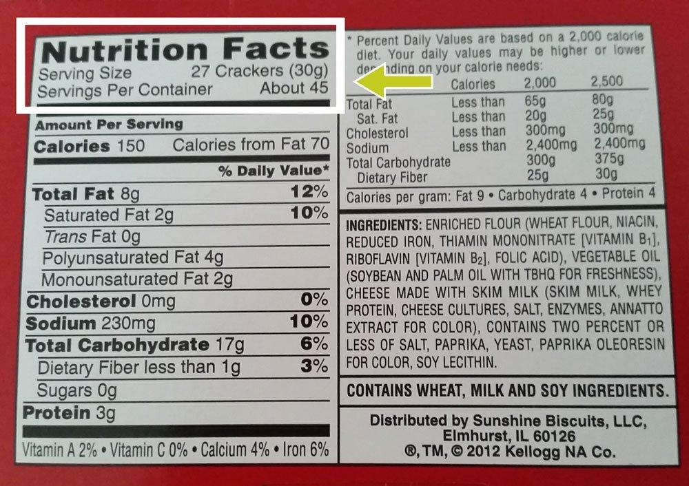 Cheezit-Nutrition-Label