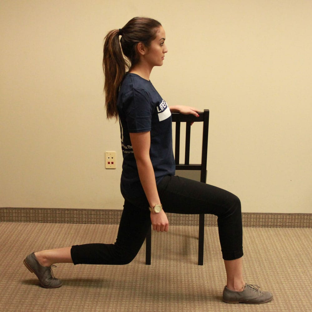 Pregnancy Lunges