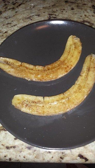 Baked Banana 1