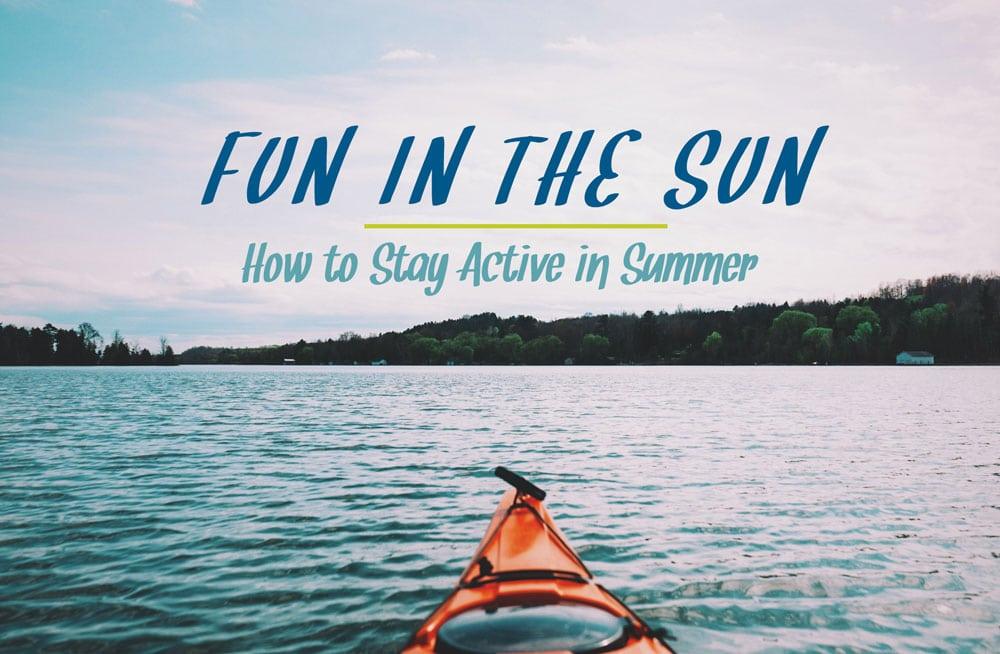 Active in Summer