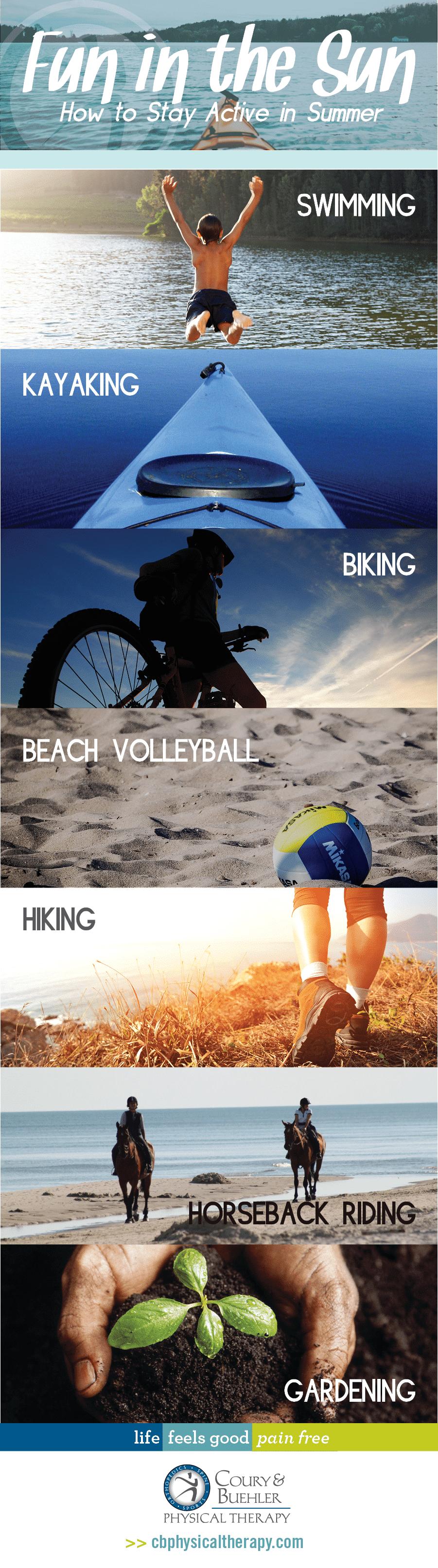 Summer Activities List