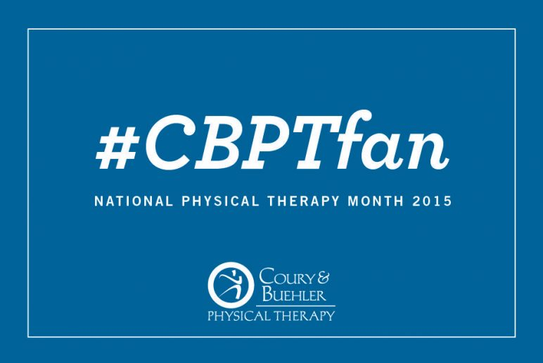 #CBPTfan – National Physical Therapy Month