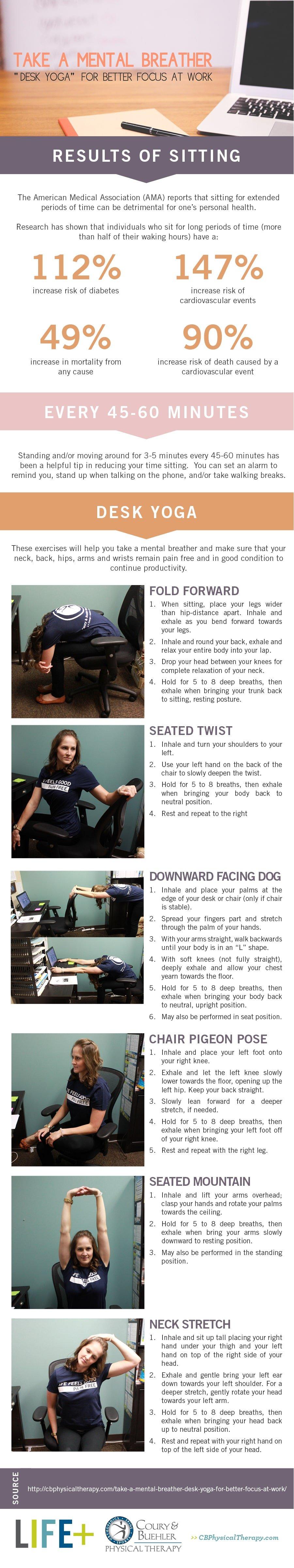 Desk Yoga Guide