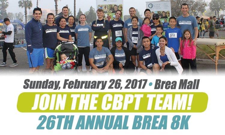 Join the 2017 CBPT Brea 8K Team!