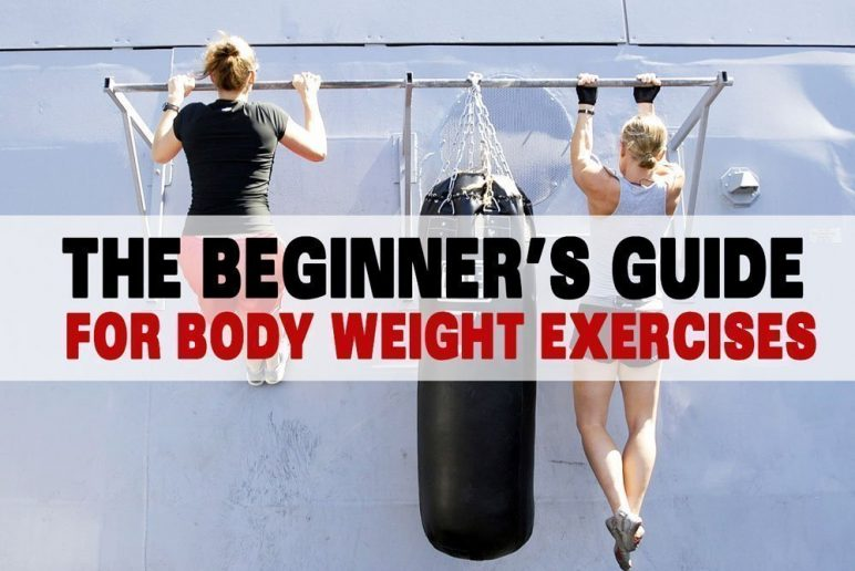 The Beginner's Guide for Body Weight Exercises