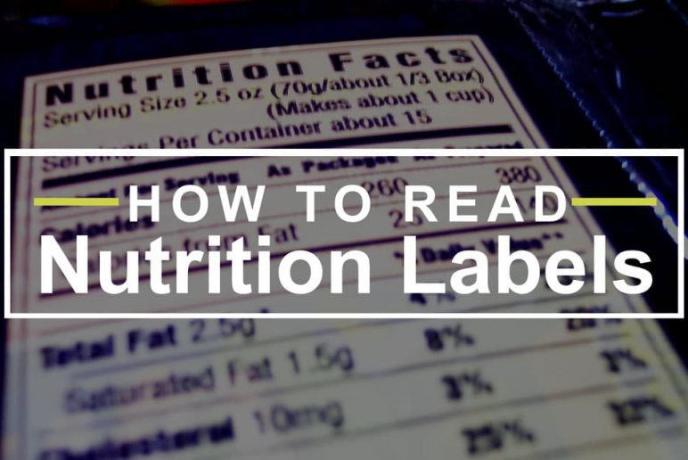 How To Read Nutritional Facts