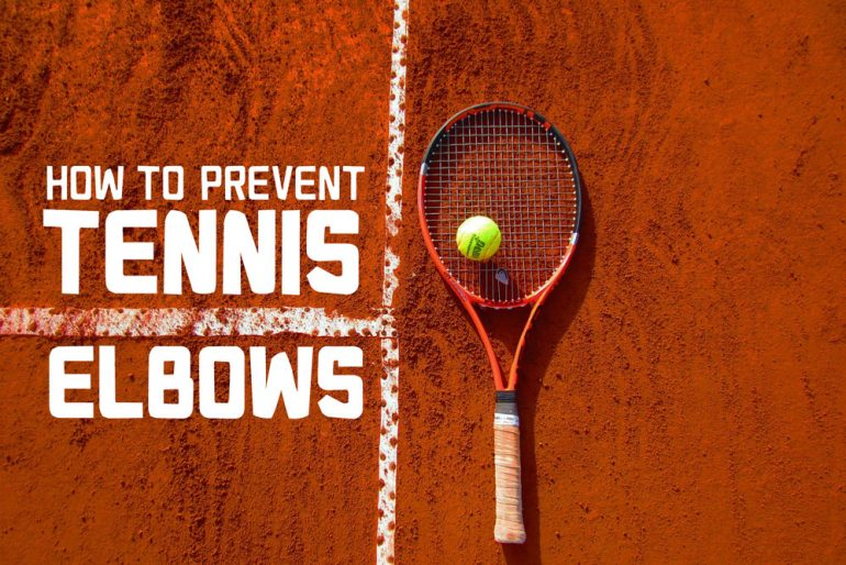 how to stop tennis elbow pain