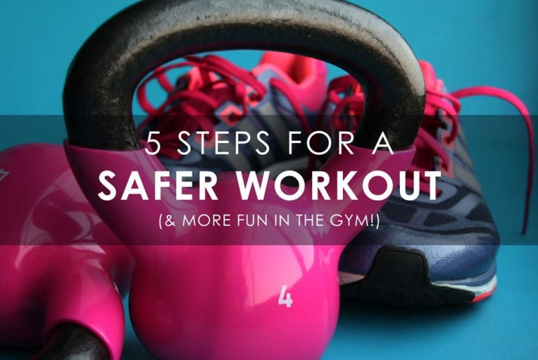 5 Safety Tips To Avoid Injury At The Gym
