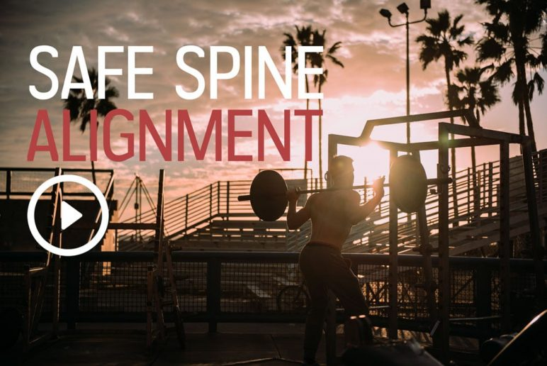 Safe Spine Alignment While Exercising