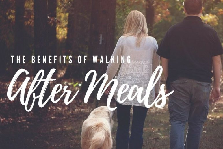 The Benefits of Walking After Meals