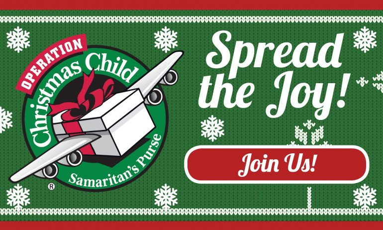 Operation Christmas Child 2019: JOIN US!
