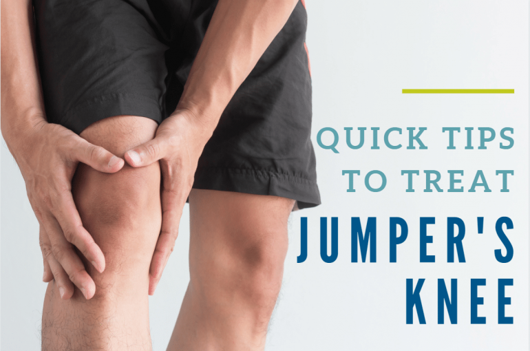 Quick Tips to Treat Jumper's Knee