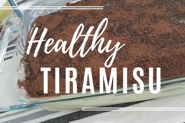 Healthy Eats: Healthy Tiramisu