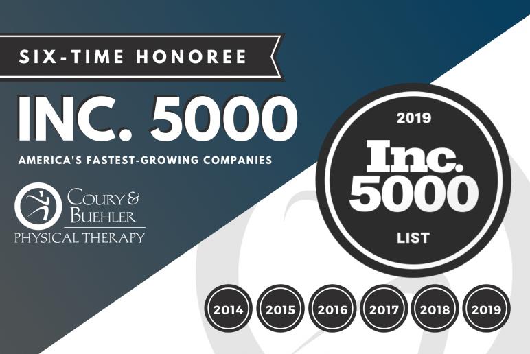INC. 5000 2019 RECIPIENT