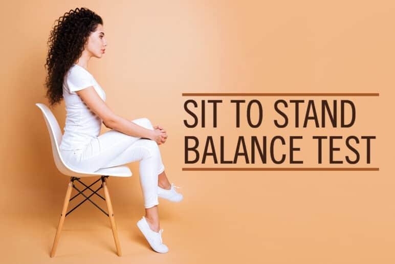 Sit-to-Stand Balance Test